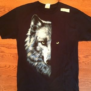 Lone wolf Vintage T-shirt